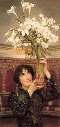 """flag of truce"" Sir Lawrence Alma Tadema"