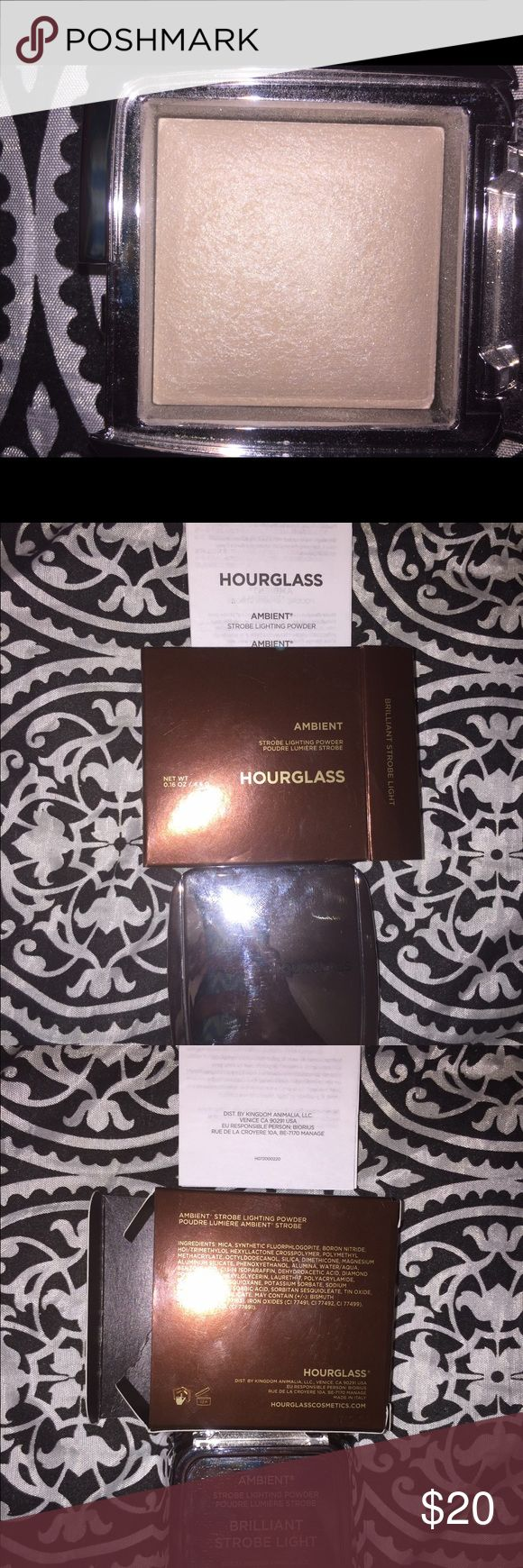 Hourglass Ambient Strobe Lighting Powder Color: Brilliant Strobe Light. Brand new, never used, never been swatched. Authentic!! Feel free to add to a bundle and or make a reasonable offer. Hourglass  Makeup