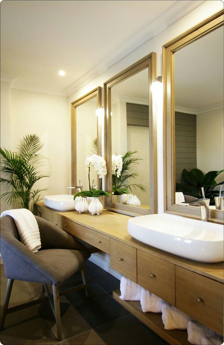 Bespoke bathroom, modern bathroom, wood bathroom, bathroom mirrors, white and wood bathroom, bathroom decore, bathroom design, contemporary rustic