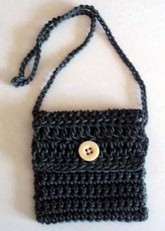 Little Crochet Bag, free pattern. For Madeleine and Emma.