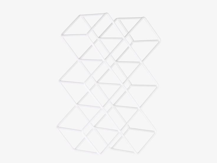 CACTI Weiß Metall Weinregal - Habitat