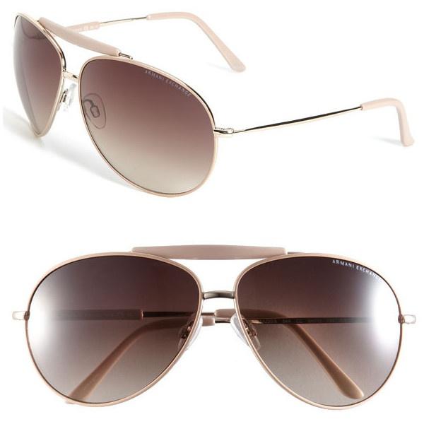 66c2365dc36 Armani Exchange Ax 139 s Aviator Sunglasses