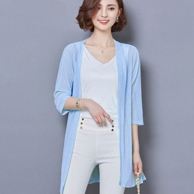 Size 16 Women's Cardigan light weight Long over blouse