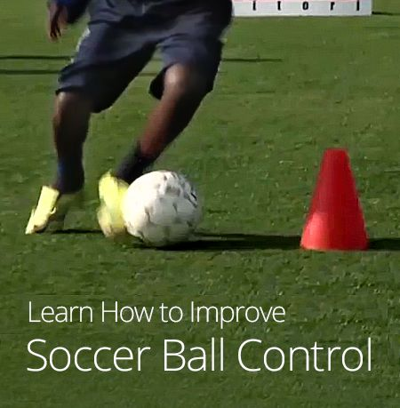 Improving Soccer Ball Control...... need to show this to some of the girls on my team