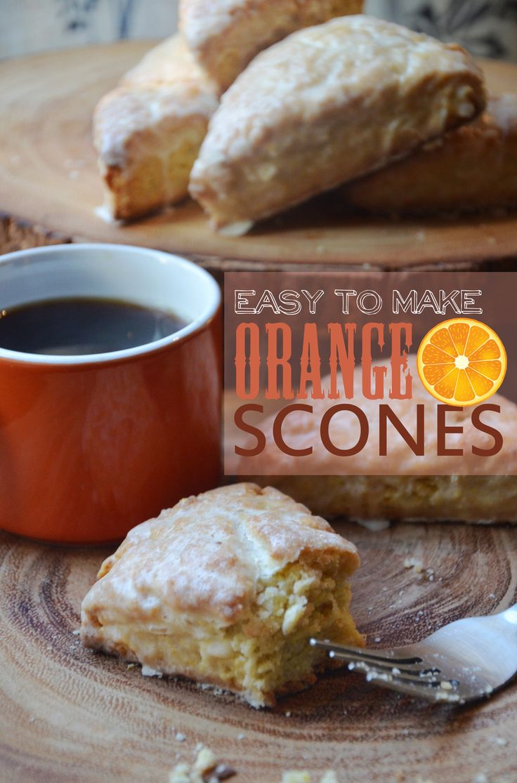 Orange Scone (Panera copy cat recipe).  More moist, flavorful and sweet than Panera's.  It's good but not a replica if you are looking for one.