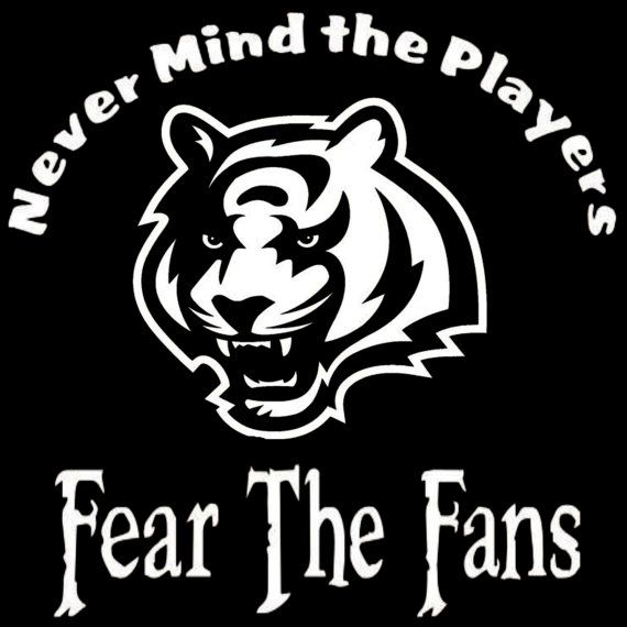Cincinnati Bengals Nevermind The Players by screenprintedtshirts, $12.00