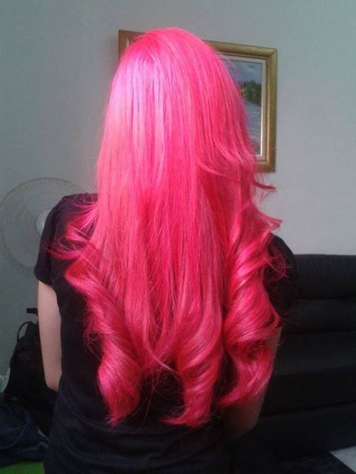 princess bubblegum pink hair