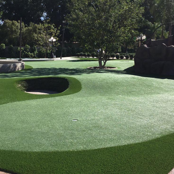 3500 SF Golf Green!