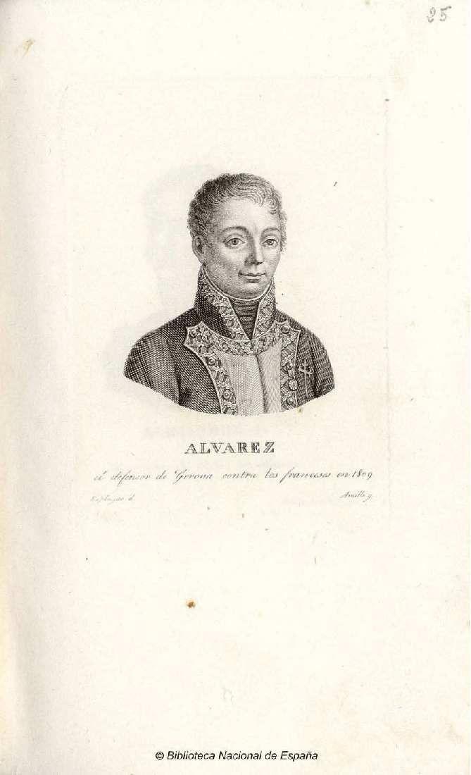 Retrato de mariano alv rez de castro amills juan m for Alvarez de castro