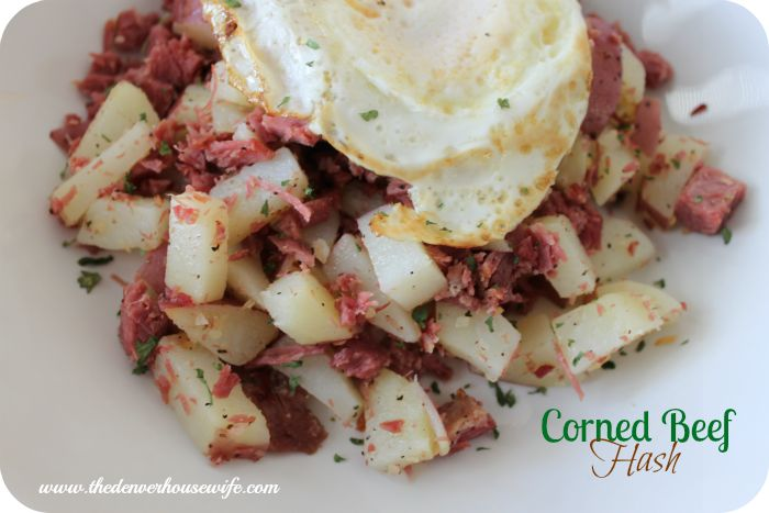 Got leftover corned beef? Make this quick & easy corned beef hash!