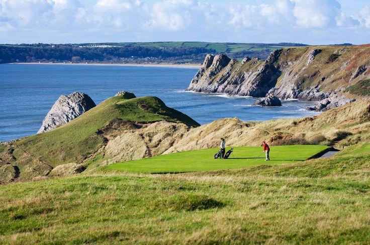 Parcours de Golf Links, Parcours de Pennard - Pays de Galles