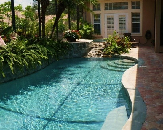 17 best images about tropical pool oasis on pinterest for Pool design miami