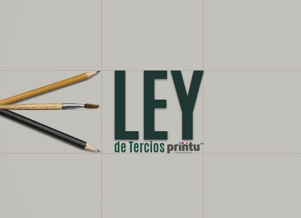 ¿Cómo hacer un buen diseño? Hablemos de la ley de tercios en el diseño gráfico. #LeyDeTercios #DiseñoGráfico #BuenDiseño