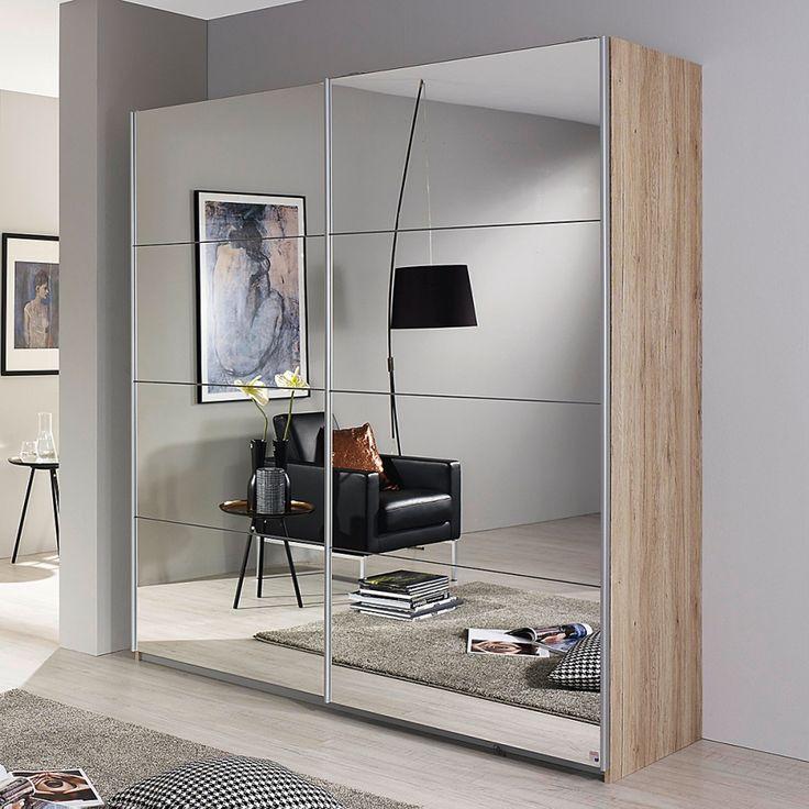 armoire a portes coulissantes subito 2 avec miroir