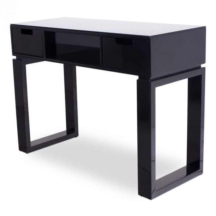 Ming black manicure table nail in spa rations for Small manicure table
