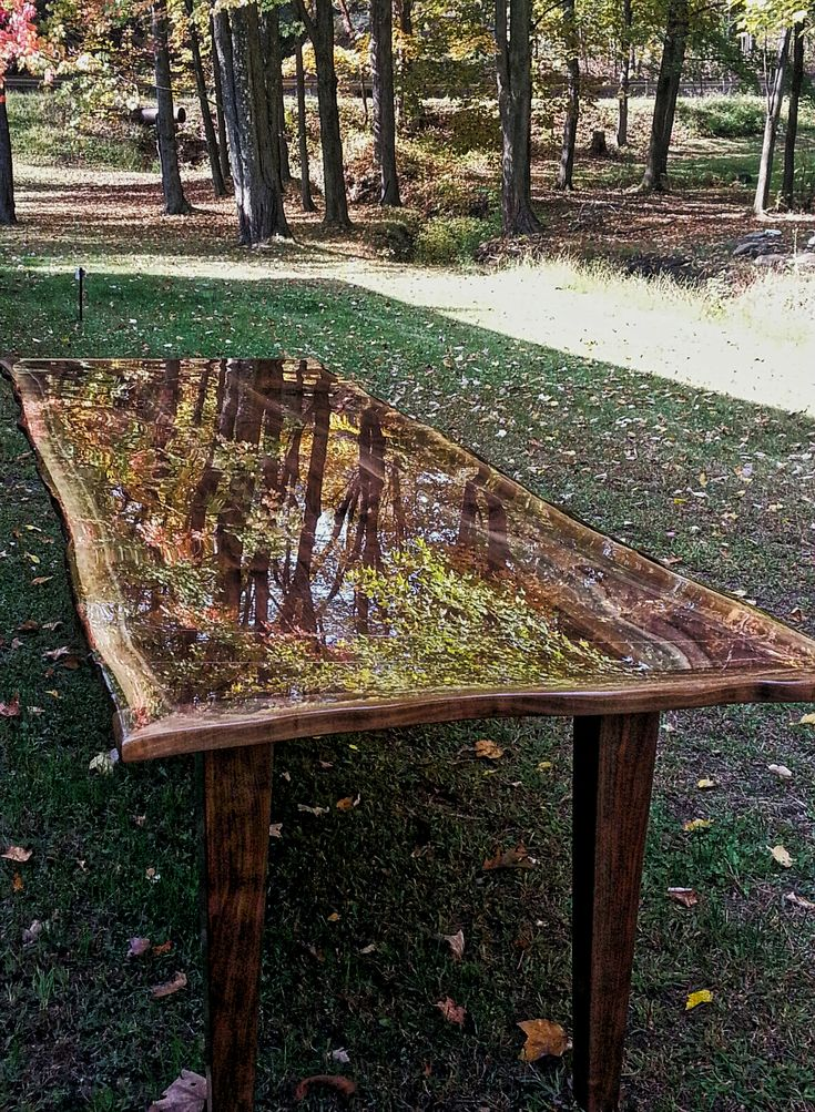 Epoxy table epoxy resin coating epoxy tables and Table making ideas