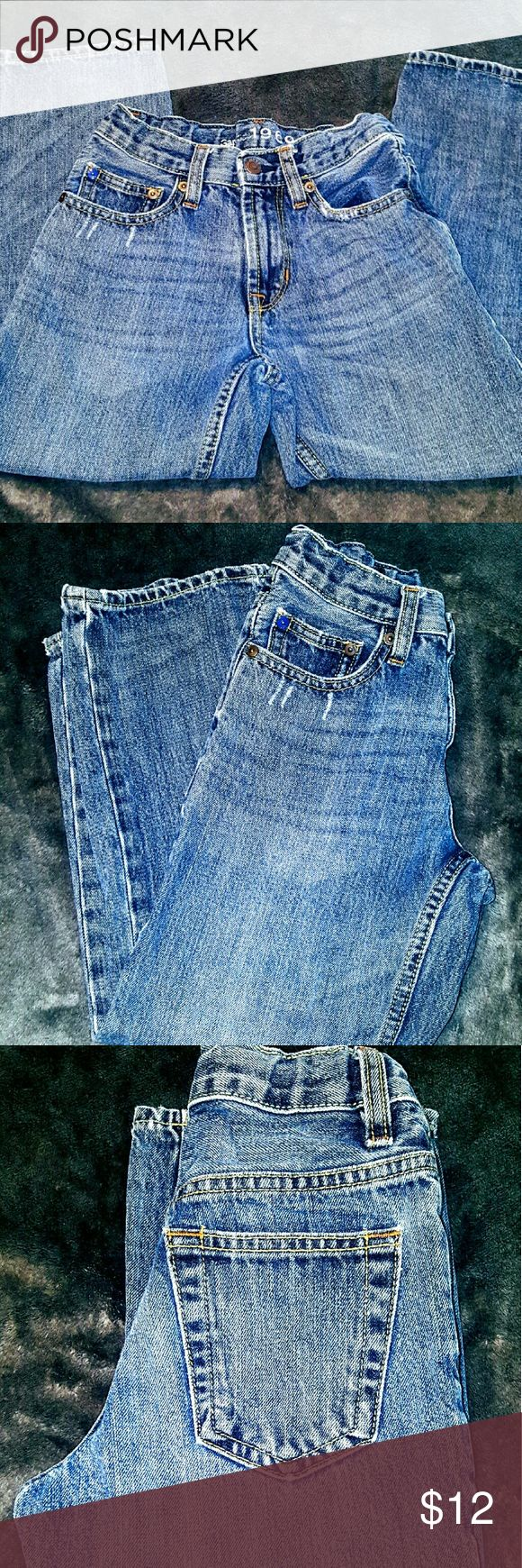 Boys 1969 Gap Kids Distressed Loose Fit Jeans Boys 1969 Gap Kids Distressed Loose Fit Jeans. Size 6. In excellent condition. GAP Bottoms Jeans