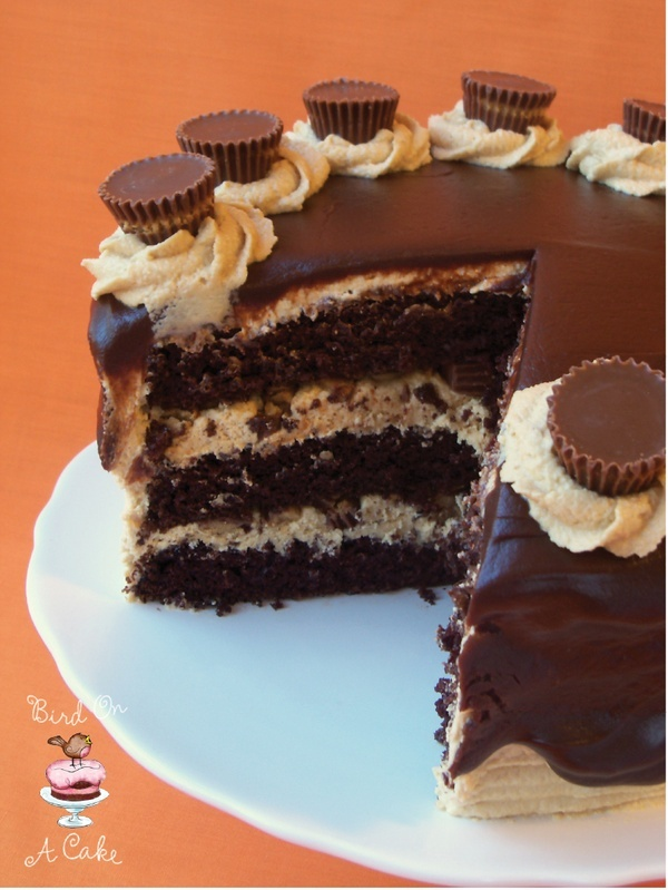 Bird On A Cake: Reeses Peanut Butter Chocolate Cake