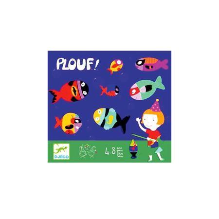 """DJECO Игра """"Плюх!"""",  DJECO  — 819 руб.  —  Игра « Плюх!» от французской компании DJECO (Джеко) непременно увлечет малышей, ведь  с ее помощью можно устроить захватывающие соревнования. Красивая и яркая вариация магнитной рыбалки теперь у Вас дома! В набор входят плотные картонные листы с фигурками (16 шт.), которые необходимо выдавить, 4 картонные удочки. Правила игры очень просты: рыбки раскидываются по полу комнаты, а соперники стараются собрать как можно больше улова. Нужно проявить…"""
