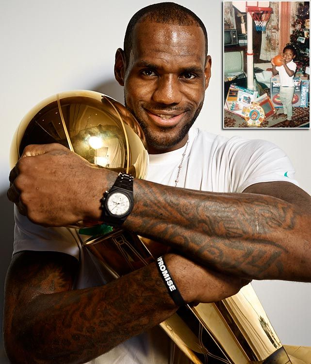 LeBron James - I'm not a Heat fan but who isn't a LeBron fan?!