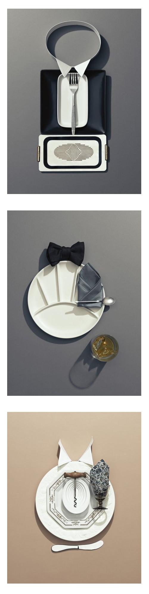 Dressing up the formal dinner