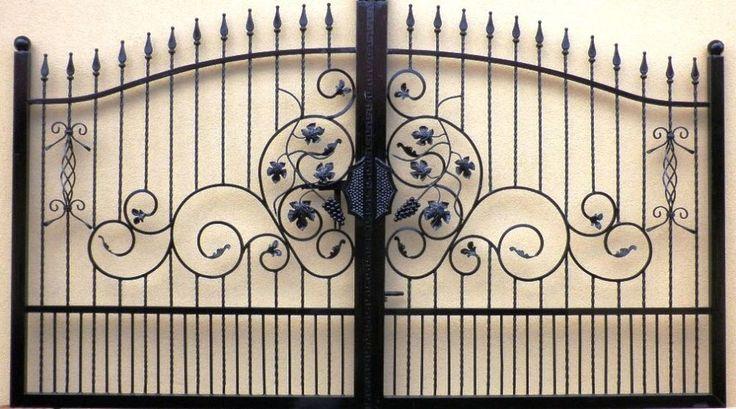 Cancello Carrabile Ferro Battuto Entry Gate Tore Portail en fer Forgé Puerta