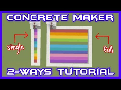 Concrete Maker Tutorial [2-Ways]