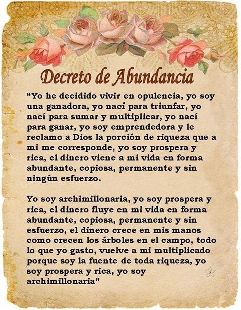Decreto de Abundancia If you've ever felt powerless about changing something in your life, I definitely recommend getting a copy of Vibrational Manifestation. It will blow your mind with how empowered it'll make you feel by the time you're through with the program.