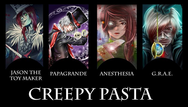 CreepyPasta COMIC COVER]- The Proteges (REMADE) by JasDavINK on ...