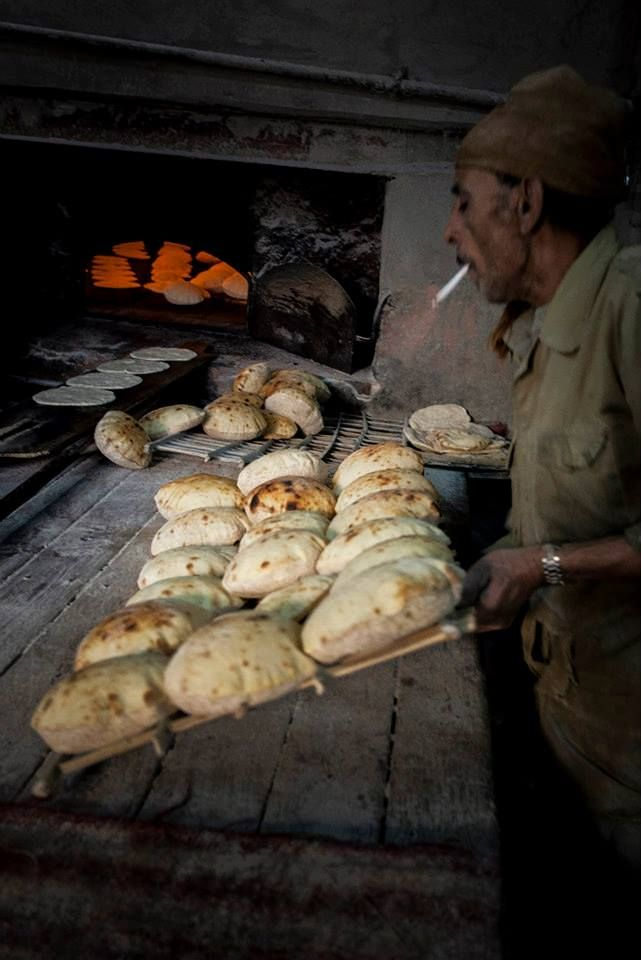 The bread bakery of Fathy, Cairo.  Ph. by Alexander Schippers