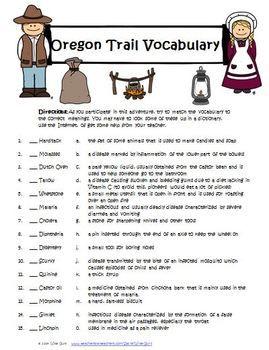 OREGON TRAIL INTERACTIVE ACTIVITY, GAME, LESSONS COMMON CORE STANDARDS - TeachersPayTeachers.com