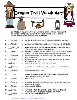 OREGON TRAIL INTERACTIVE ACTIVITY, GAME, LESSONS COMMON CORE STANDARDS - TeachersPayTeachers.com