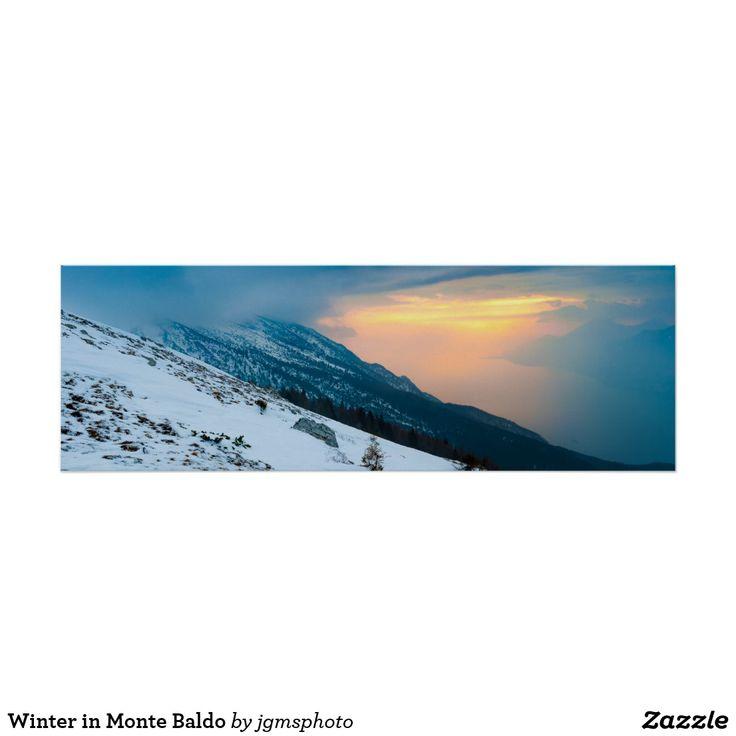 Póster Winter in Monte Baldo