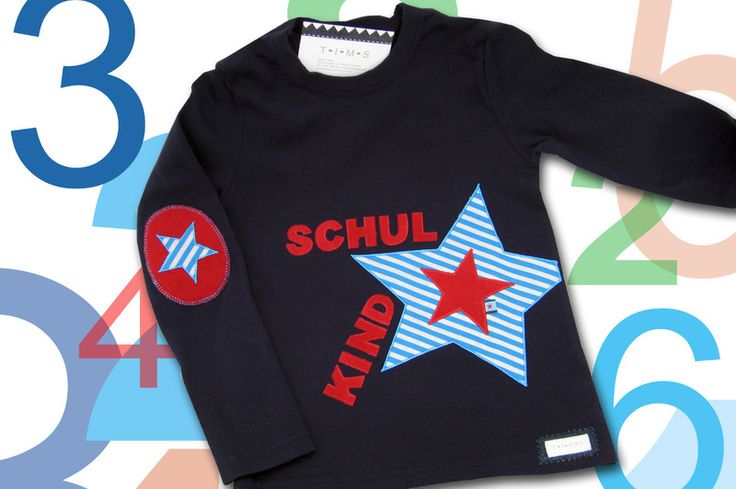 Schulkind-Shirt von T-I-M-S auf DaWanda.com