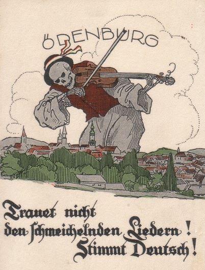 Ne bízz a hízelgő dalokban! Szavazz németként!