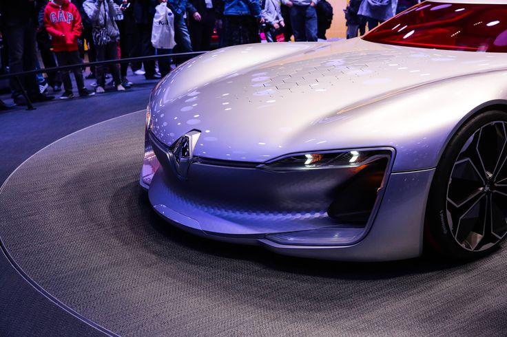 Trezor le concept car Renault dévoilée au Mondial Automobile 2016