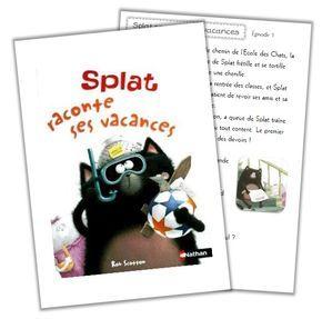 Splat raconte ses vacances