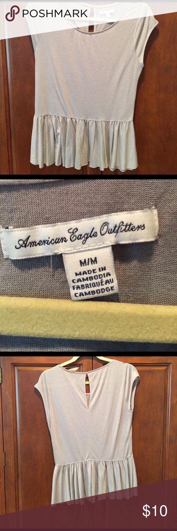 🎉 24 hr. SALE American Eagle size Medium American Eagle peplum top size Medium American Eagle Outfitters Tops