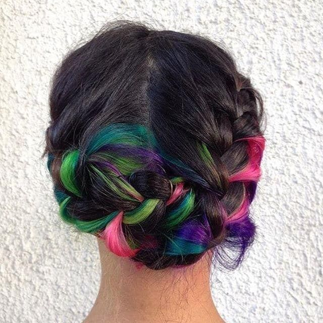 17 Bold AF Hidden Hair Colors You Can Actually Wear To Work