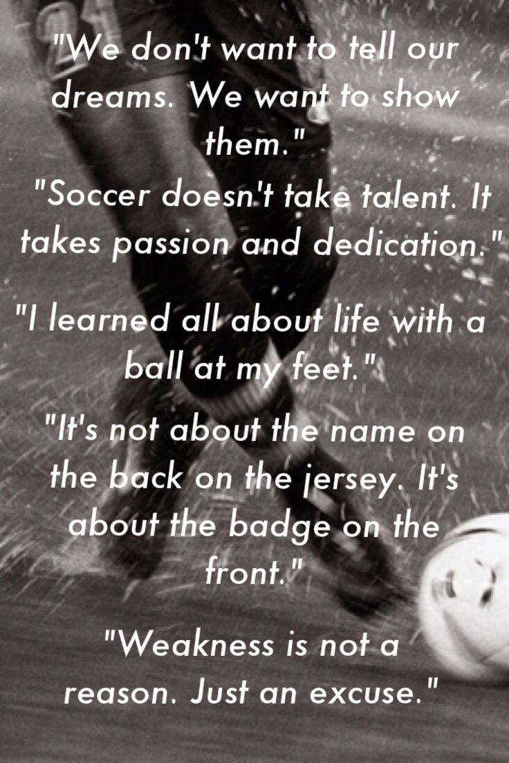 Soccer Quotes.