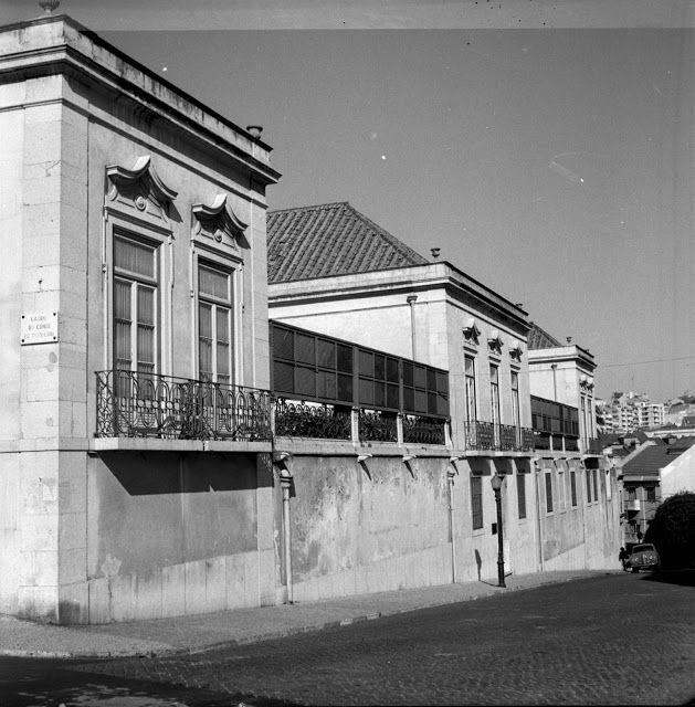 Lisboa de Antigamente: Palácio Pombeiro