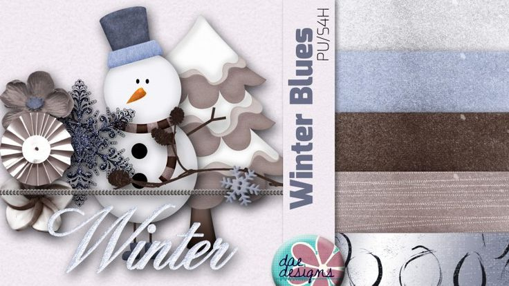 Winter Blues by Dae Designs