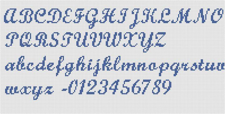 Schema alfabeto punto croce schemi alfabeti pinterest for Alfabeto disney a punto croce
