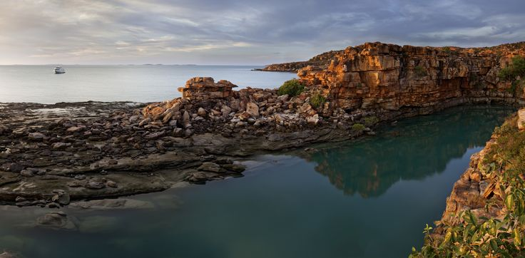 TRUE NORTH at Wynyalkin, stunning Kimberley coast vistas. #landscapephotography #scenic #boats #luxurytravel #northstarcruises