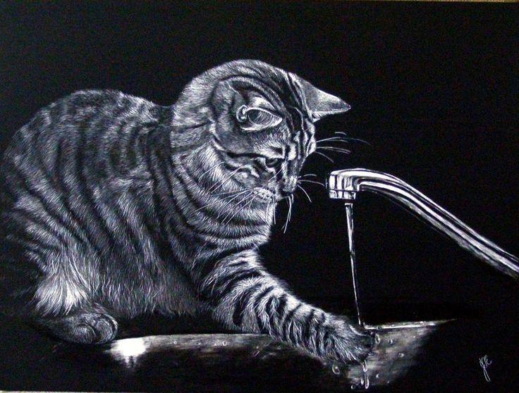 88 Best Scratchboard Art Images On Pinterest
