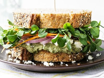 13 best vegetarian sandwiches that are reasonably easy to pack for work via hellawella