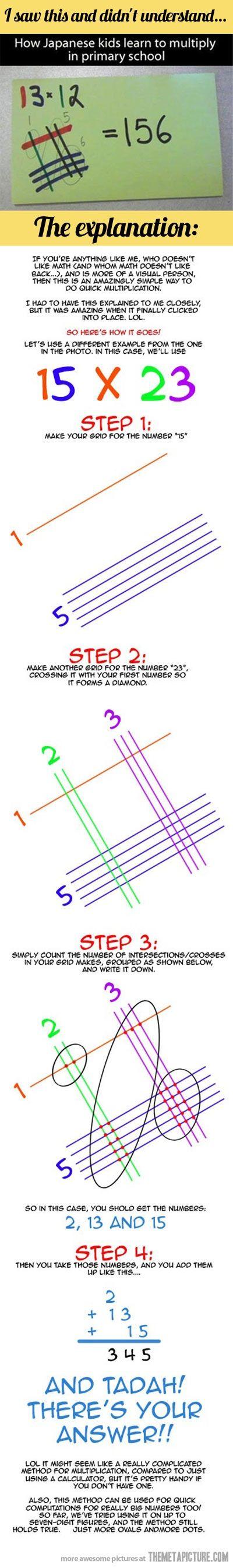 Mathematik einmal anders