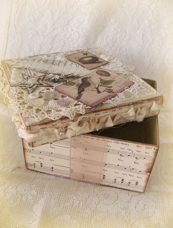 shabby altered   box on youtube | Altered Box | All About (my) Art