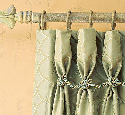 Goblet -pleat Drape