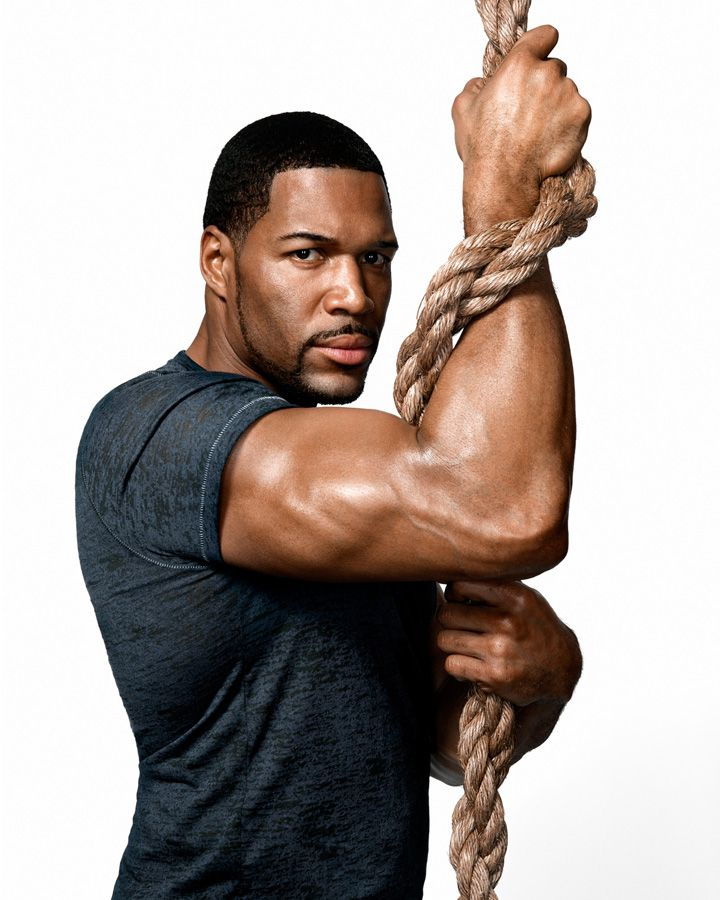 I had a crush on Michael Strahan long before women thought he was fine. My friends were like, what!.?!? He was a diamond in the ruff. Look at him now...Shining!